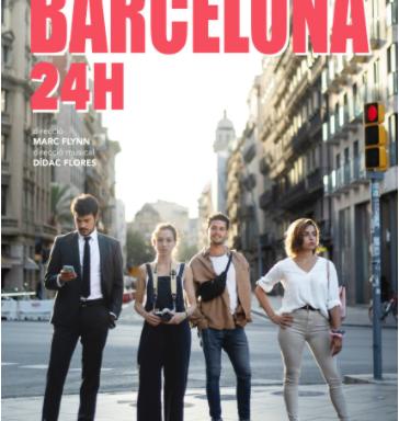 """Cartell de l'obra """"Barcelona 24h"""""""